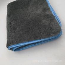 Lavagem de carro de 1200gsm Microfiber que detalha a toalha coral do velo