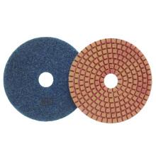 Diamond flexível Convex Resina Wet polimento Pads
