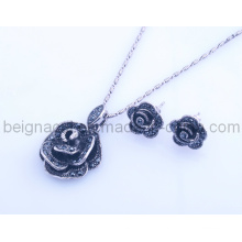 Bijoux Fashion Rose Design Set