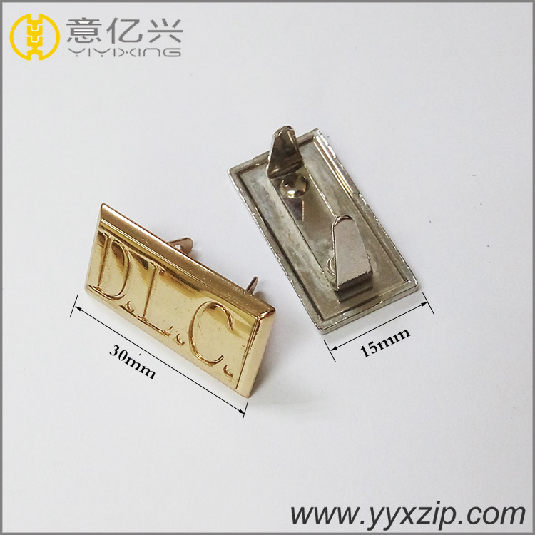 Handbag Hardware Metal Tag