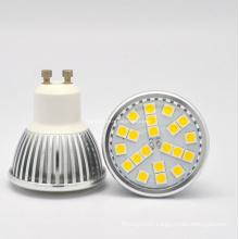 5050 LED 21PCS 3W GU10 AC85-265V LED Spotlight