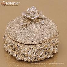 высокое качество роскошный дизайн ящик для хранения ювелирных изделий свадебные украшения