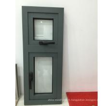 China Factory Vente de vitres en verre à bascule à bas prix UPVC à usage domestique