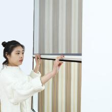 perfil de alumínio retrátil da liga da janela da tela da fibra de vidro