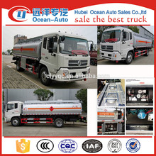 DFAC mobile 10000 liter Refuelling truck , fuel trailers for sale