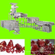 pomegranate seed extract machine pomegranate peeling machine pomegranate processing line