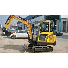 Motor Hidráulico 3500KGS Mini Excavadoras Pequeñas Excavadoras