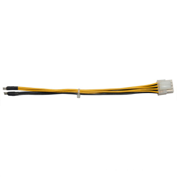 Harnais OEM câble de 4,2 mm Pitch 8 Pin Server