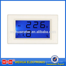 Panel Meter PM86B with Voltage Test with Voltage and Current Measurement with 2 Channel Simultaneou