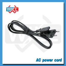 VDE CE 2 pin Euro Power cord with C7 C5 plug
