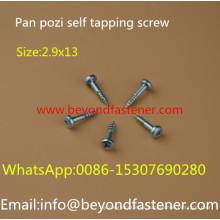 Pan Screw Self Tapping Screw Sharp Point