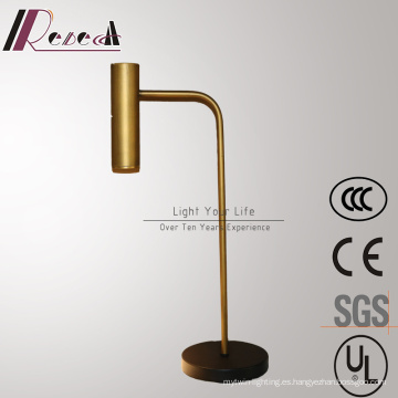 Sala de estar decorativa Bronzen Iron Reading Table / Desk Lamp