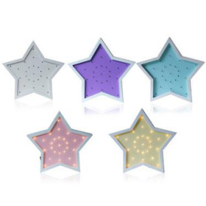 Cartoon Five Pointed Star Energy Saving Wall Lamp