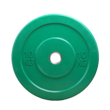 Gym equipment Crossfit Weightlifting Plate Color Rubber Weight Plates Commercial Bumper Plates