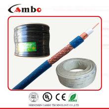 close-circuit TV system cable mini rg6 bare copper