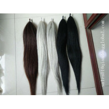 Colorful Double Thickness False Horse Tail Hair