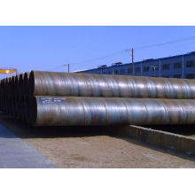 SSAW spiral round welded carbon steel pipe or tube