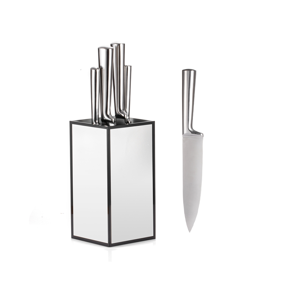Kitchen Knife Set with Stand