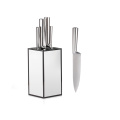 Garwin 6pcs kitchen knife set with knife stand