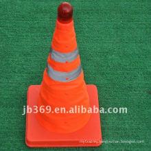 Key light brand Retractable Traffic Cone