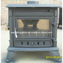 Cast Iron Stoves with Steel Boiler (AM02B(S)-21KW)