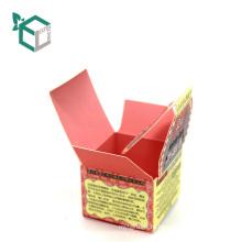 Изготовленный на заказ цвет печать складной коробка для рассыпчатой пудры