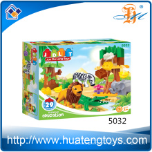 Hot selling 29PCS plastic big connecting blocks toys for adult