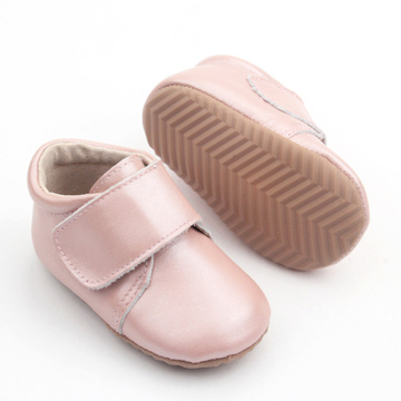 Mjuk Sole Nyfödd Baby Girl Toddler Boots