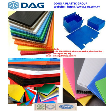 Competitive price, high quality PP Hollow Sheet