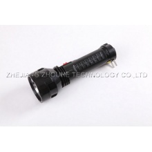 flashlight Rechargeable led plastic torch