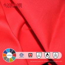 Tela de mezclilla ignífuga de algodón para ropa de trabajo