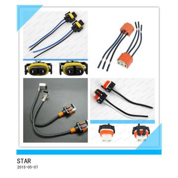 Harnais de fil automatique de connecteur de Pin 2 adapté aux besoins du client