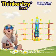Education Toy DIY Plastic Building Blocks for 3-6 Kids