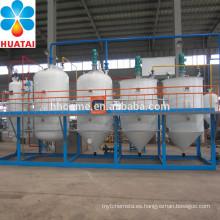 Máquina de refinación de aceite de girasol
