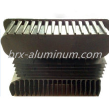 Hard anodized aluminum alloy heat sink