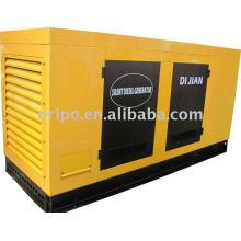 Refrigerado a água super gerador à prova de som com motor diesel Shangchai