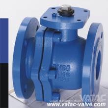 Floating Direct Mounting Flanged RF/NPT/Welding Casting/Casted Steel Cl150~Cl600 Ball Valve