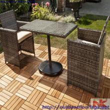 Carrelage en bois de jardin, haute qualité du Vietnam