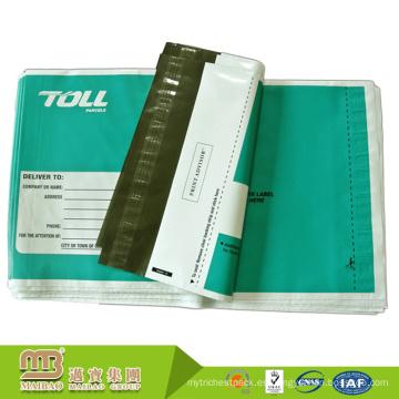 Comercio de calidad de primera calidad de la buena calidad precio personalizado LDPE plástico Perforate Poly Mailer
