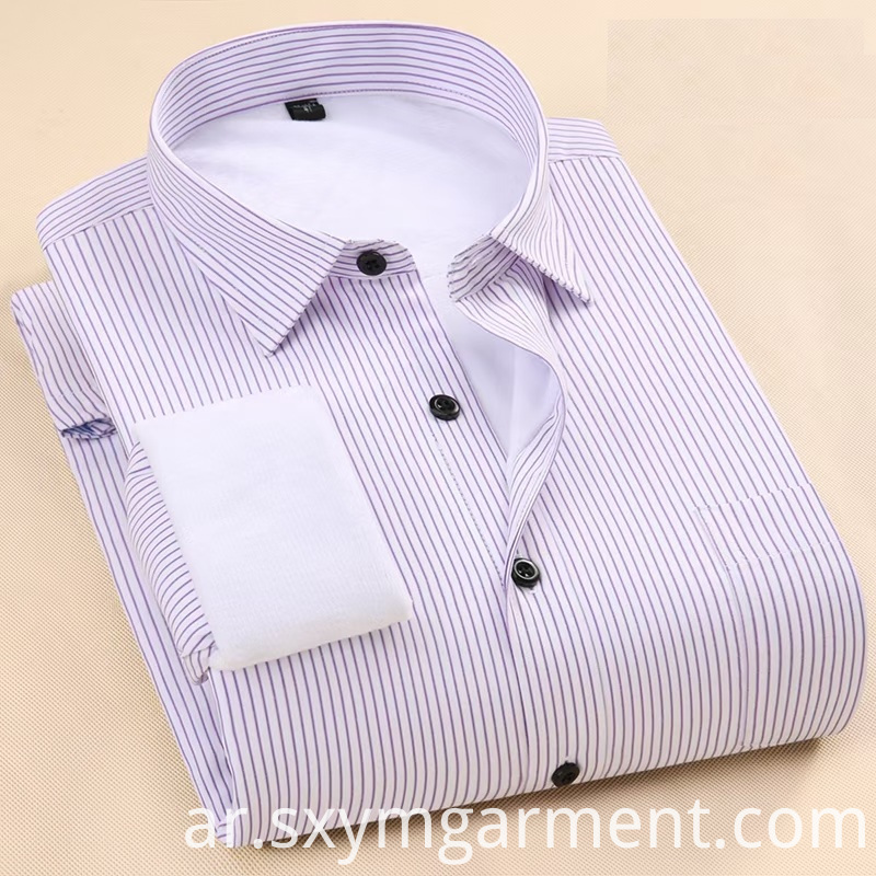 Mens Office Shirt in autumn