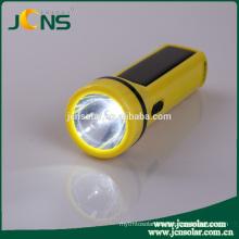 Brightness Flashlight Torch Hand Light Led Torch with Solar Panel