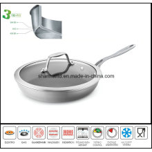Frypan 3ply Body Induction Skillet