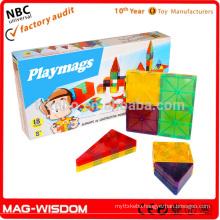 Magnetic Building Construction Tile Blocks Magna Tiles 18pcs
