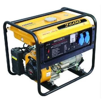 CE-Zulassung 2kw Benzin-Generator (WH2600-X)