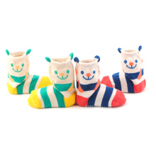 2016 Hot Sell Quality Cotton 3D Baby Animal Socks