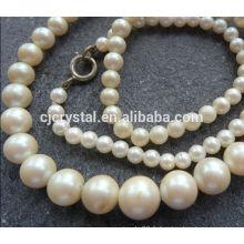 Perles de perles de verre de 12 mm