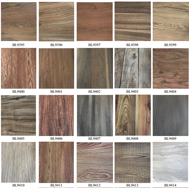 melamine wood color for MDF