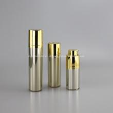 Frasco pompe airless rond rotatif 15ml 30ml 50ml couleur ou de luxe
