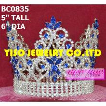 Belle couronne de concours de cristal