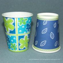 Einweg-Einwand-Kaffee-Papierbecher 9,5 Unzen
